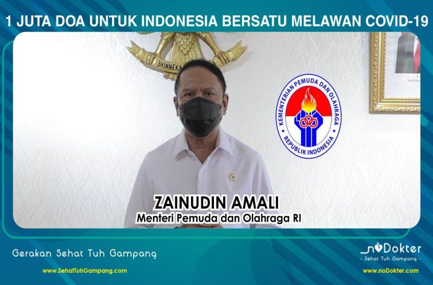 Kampanye 1 Juta Doa untuk Indonesia Bersatu Melawan Covid-19