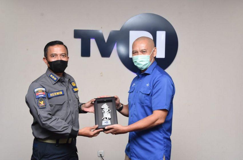 Kunjungi Dua Televisi, Kapendam Jaya : Kita Terus Tingkatkan Hubungan Kemitraan Dengan Media