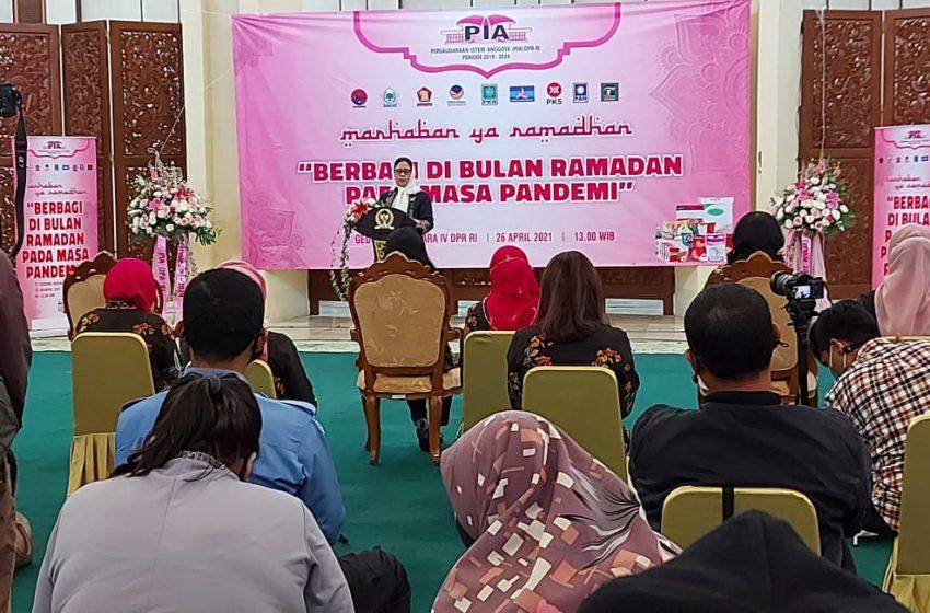 PIA DPR RI Berbagi Dibulan Ramadhan