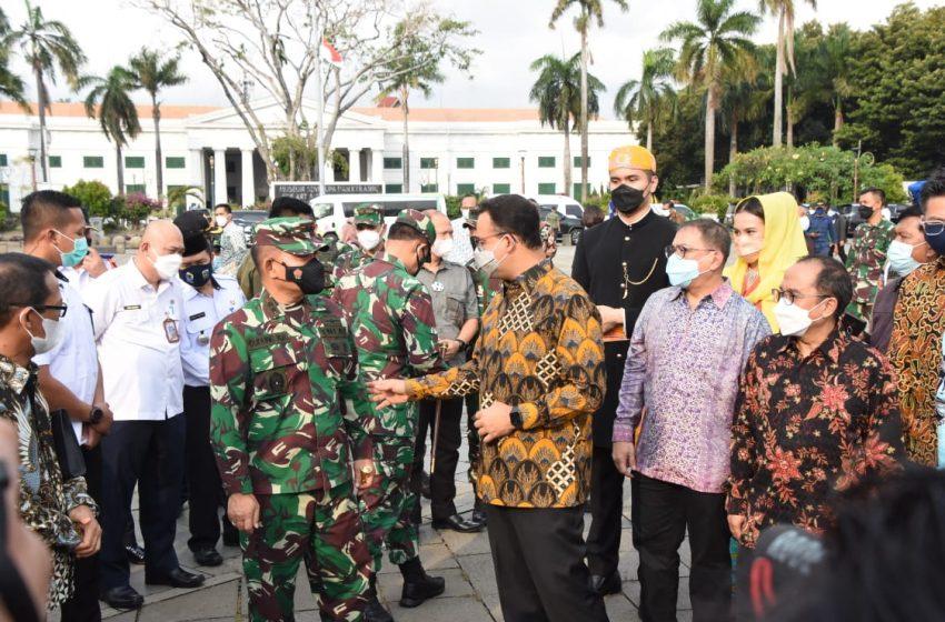 Pangdam Jaya Hadiri Penandatangan Head Of Agreement Pembentukan JV Kota Tua