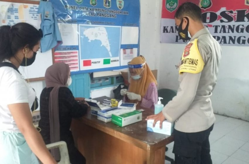 Warga dan Wisatawan Tiba di Pulau Pemukiman, Mendapat Layanan Rapid Tes Gratis di Delapan Posko KTJ