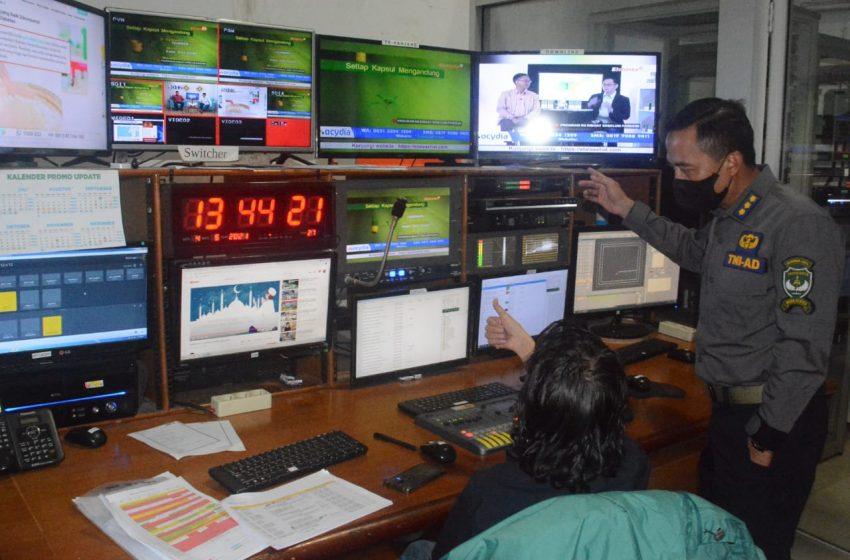 Kapendam Jaya Kunjungi Elshinta TV