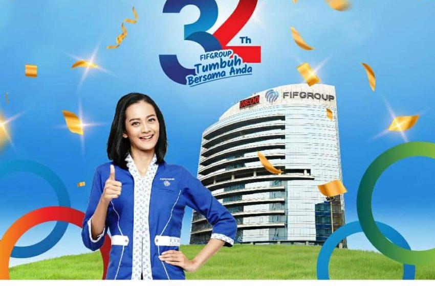 FIFGROUP Gelar Event dan Promo Menarik di Semarak Kemilau 32 Tahun