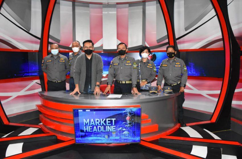 Jalin Silaturahim Kemitraan Kapendam Jaya Kunjungi MNC Media Group