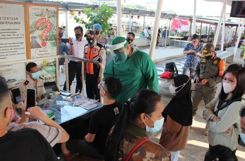 Ops Ketupat Jaya-2021, Kapolres Kep Seribu Cek Giat Pengamanan Anggota