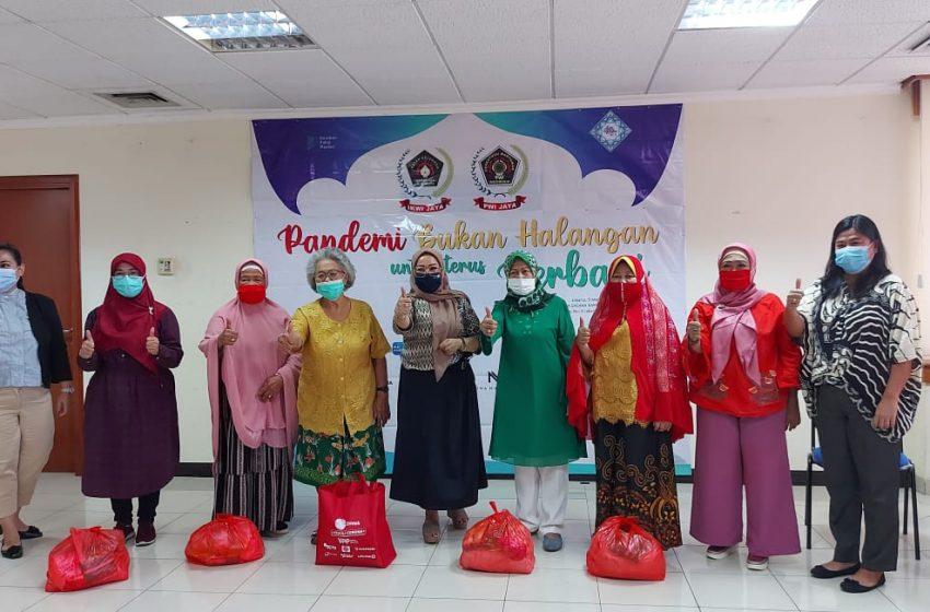 """IKWI Jaya Berbagi, """"Pandemi Bukan Halangan untuk Terus Berbagi"""""""