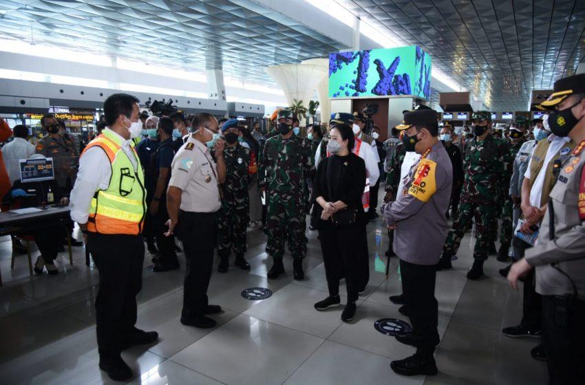 Ketua DPR RI Minta Jangan Sampai 'Kecolongan' Penularan Covid-19 dari Bandara