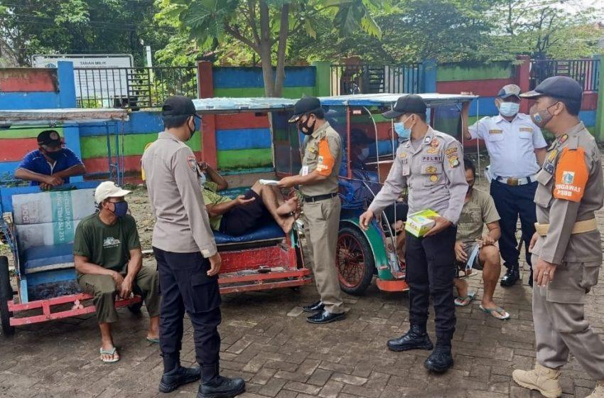 Warga di Delapan Pulau Pemukiman Dapat 1.600 Masker Medis Gratis