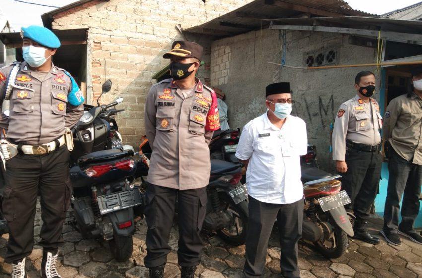 Dalam Rangka HUT Bhayangkara Ke-75, Polsek Cinere Berikan Pelayanan Vaksinasi