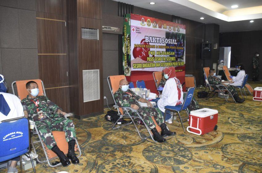 Aksi Donor Darah dan Bantuan Sosial PKB Juang 2021