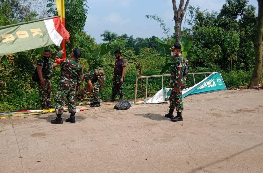 Pra TMMD ke-111 Kodim 0510/Tigaraksa Berlangsung di Kampung Daraham Kec. Jambe
