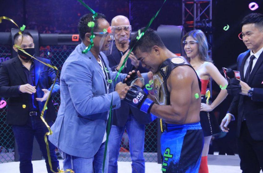 Windri Patilima Rebut Sabuk Juara Welterweight One Pride dari Theodorus Ginting