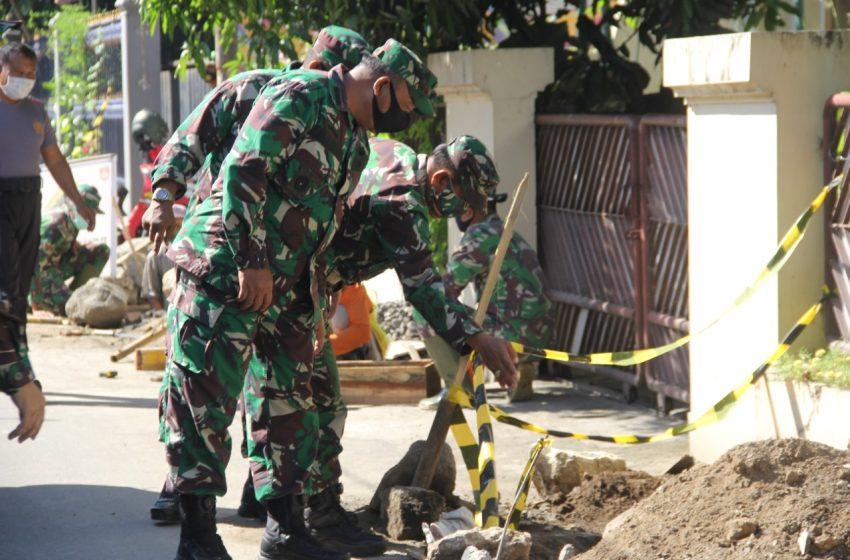 Giat TMMD Kota Yogyakarta, Renovasi 10 Rumah Tidak Layak Huni