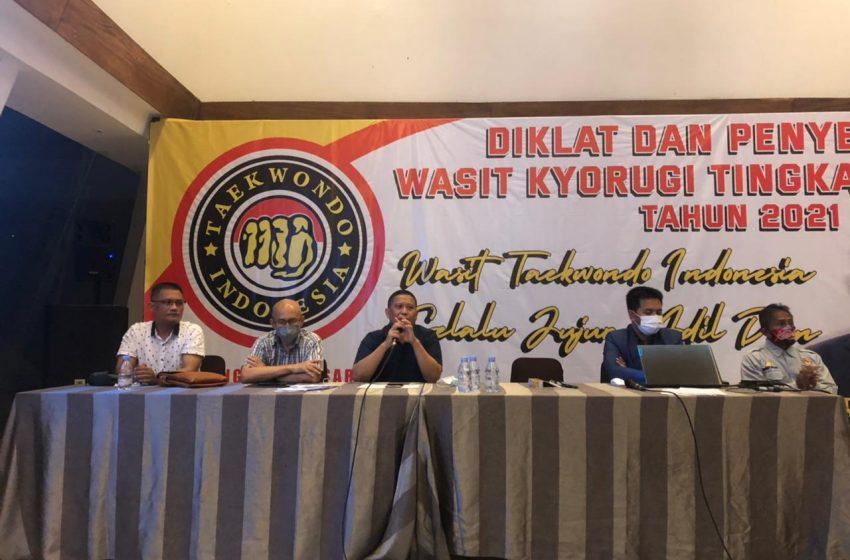 Teakwondo Indonesia Gelar Diklat Wasit Nasional
