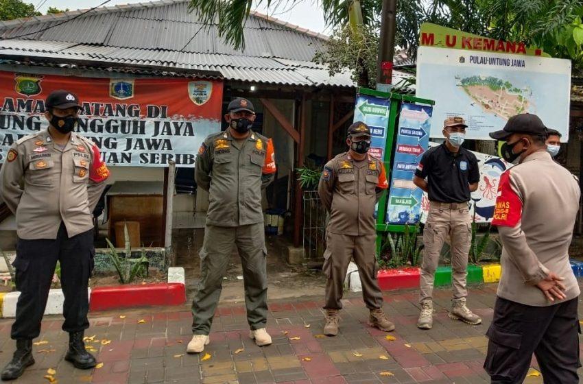 Ops Yustisi Gabungan Polsek Kep Seribu Selatan Tindak 14 Pelanggar ProKes