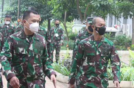 Pangdam Jaya Tinjau RSD Covid-19 Wisma Atlet Kemayoran