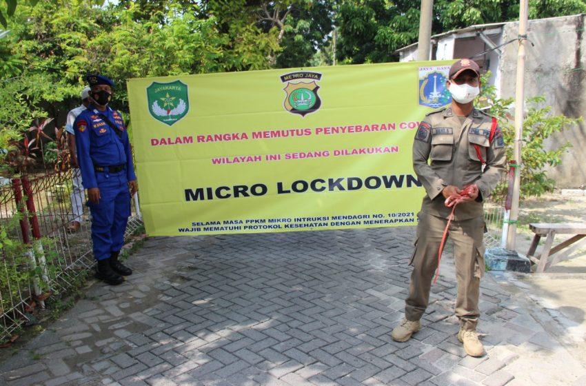 Dinyatakan Zona Merah, Satu RT di Pulau Lancang Kep Seribu Selatan di Mikro Lockdown