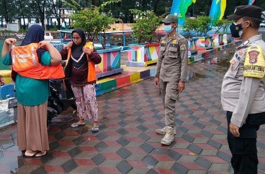 Tak Bermasker, 6 Pelanggar Terjaring Ops Yustisi Gabungan di KTJ Pulau Pramuka