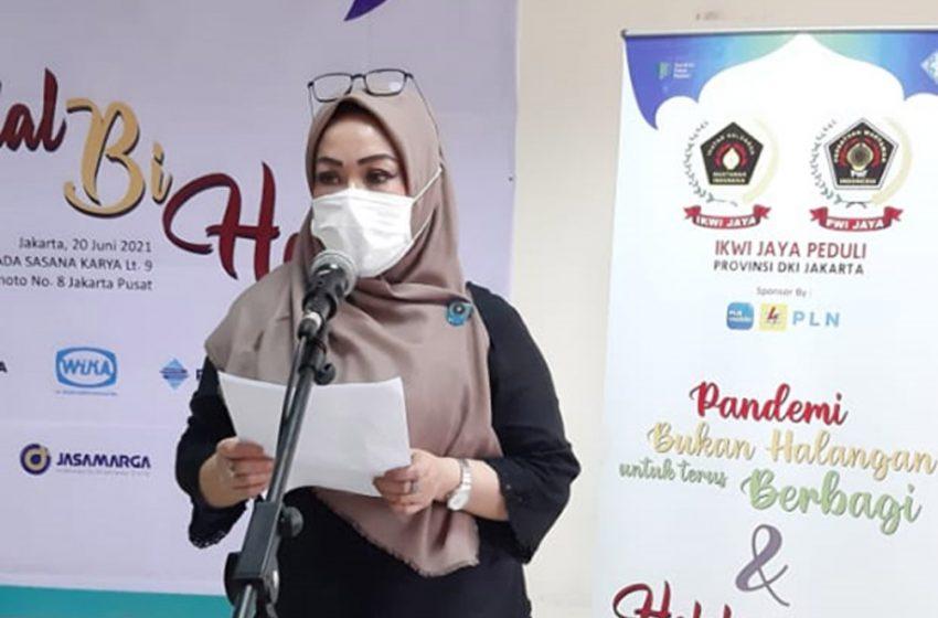 "Halalbihalal IKWI Jaya, ""Pandemi Bukan Halangan untuk Terus Berbagi"""