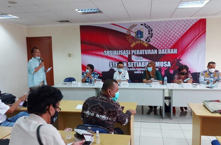 Sosper Anggota Komisi B DPRD DKI Jakarta, Steven Setiabudi Musa: Pemilik Kendaraan di DKI Wajib Punya Garasi