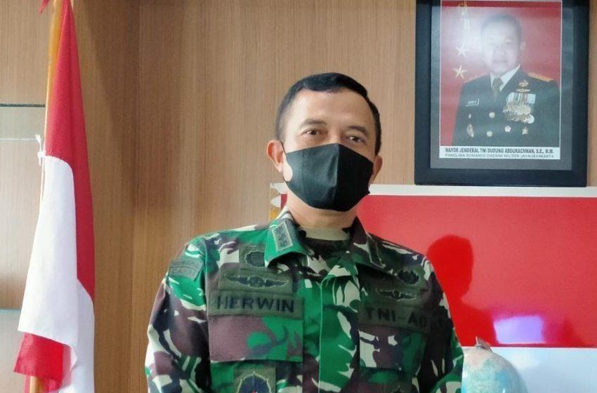 Kapendam Jaya Himbau Personel Satgas dan Wartawan di Lokasi TMMD Ke 111 Patuhi Prokes Covid-19