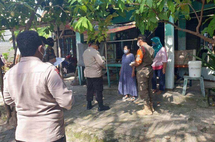 Disiplinkan Warga, Ops Yustisi Gabungan Tiga Pilar Di Pulau Lancang Beri Sanksi 12 Pelanggar