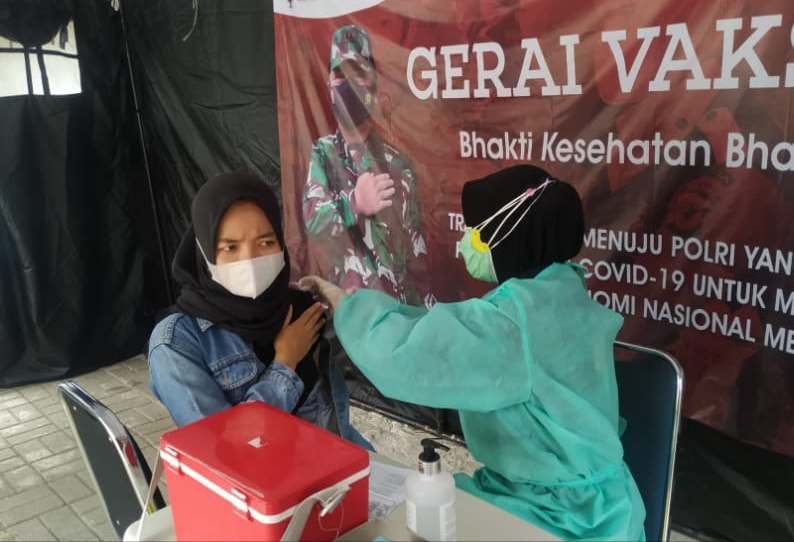 Gerai Vaksin Presisi Polres Kep Seribu Hari Ini Suntik 21 Warga Masyarakat