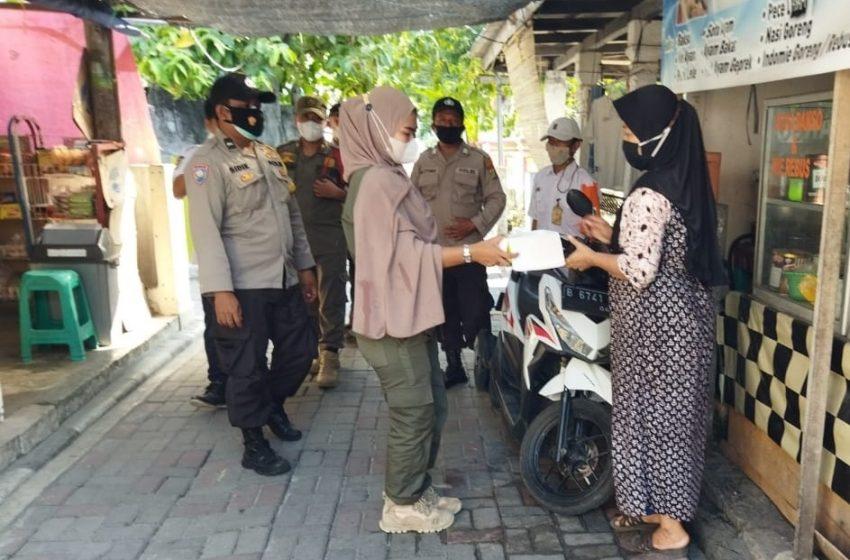 Warga Delapan Pulau Pemukiman Dapat 1.800 Masker Dari Polres Kep Seribu