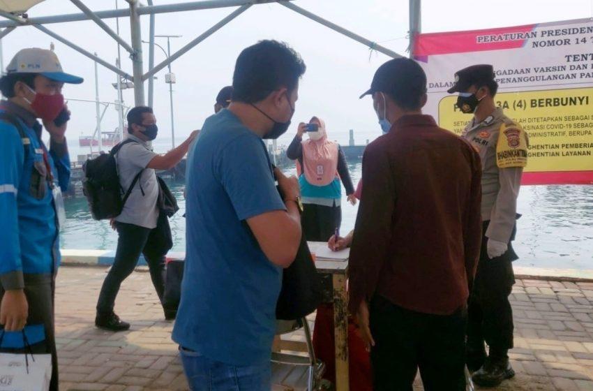 Posko KTJ Pulau Pramuka Testing Swab Antigen 9 Warga Yang Baru Tiba di Pulau, ini Hasilnya