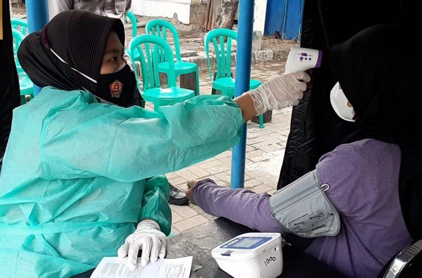 Hari ini, Gerai Vaksin Presisi Polres Kep Seribu Suntik 20 Warga Masyarakat