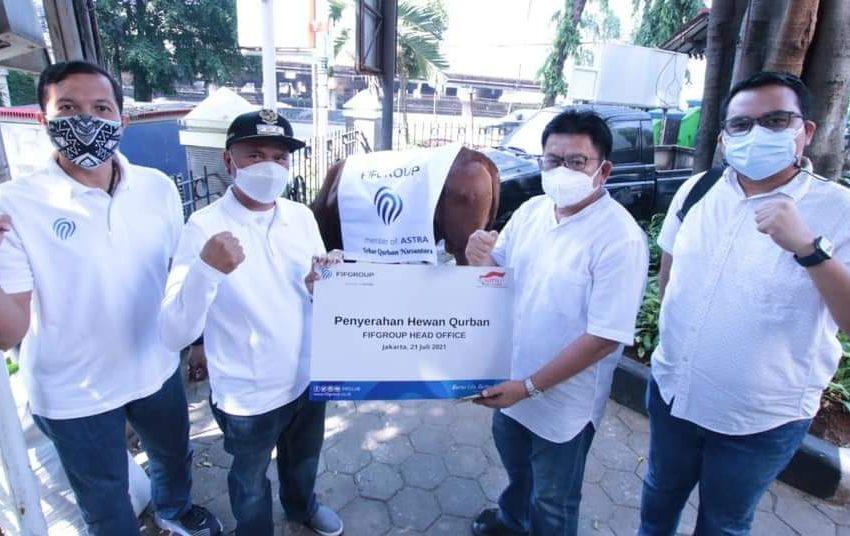 Idul Adha, FIFGROUP Kurban 371 Kambing dan 3 Sapi di 235 Titik se-Indonesia