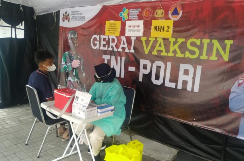Gerai Vaksin Presisi Polres Kep Seribu Hari Ini Suntik 19 Warga Masyarakat