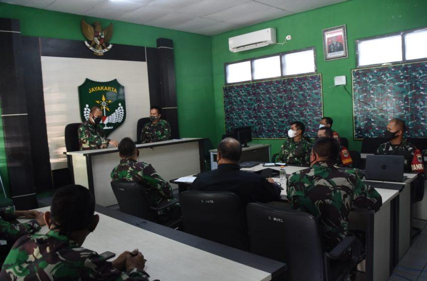 Pangdam Jaya Tinjau PPKM di Kodim 0507/Kota Bekasi dan Koramil 02/Pondok Gede