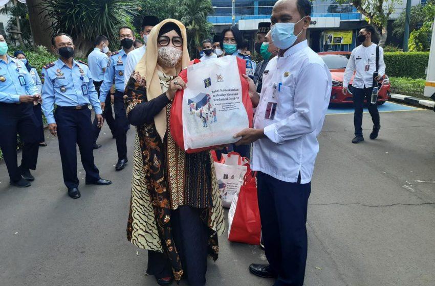 Kumham Peduli Berbagi di Wilayah Jakarta Utara