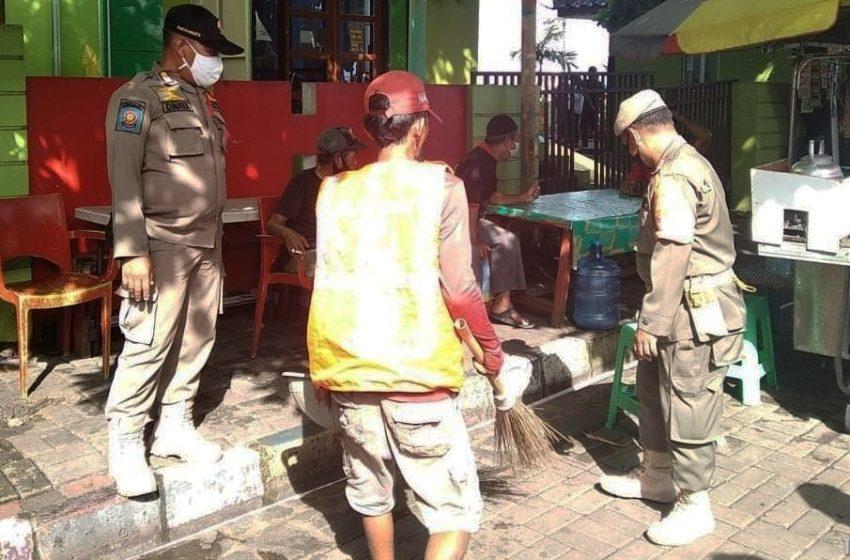 Jaring 4 Pelanggar di KTJ Pulau Pramuka, Ops Yustisi Gabungan Tiga Pilar Terus Disiplinkan Warga