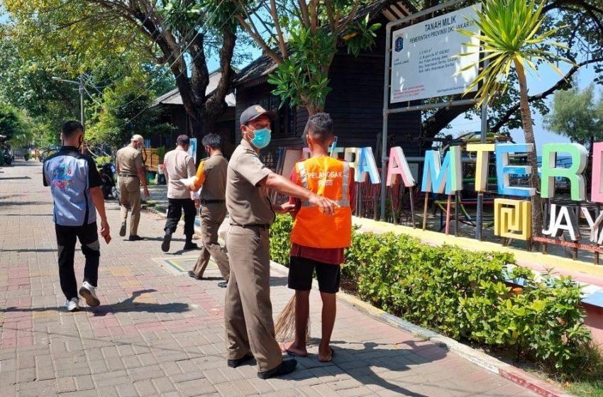 Disiplinkan Warga Pulau Untung Jawa, 9 Pelanggar ProKes Kena Sanksi Oleh Ops Yustisi Polsek Kep Seribu Selatan