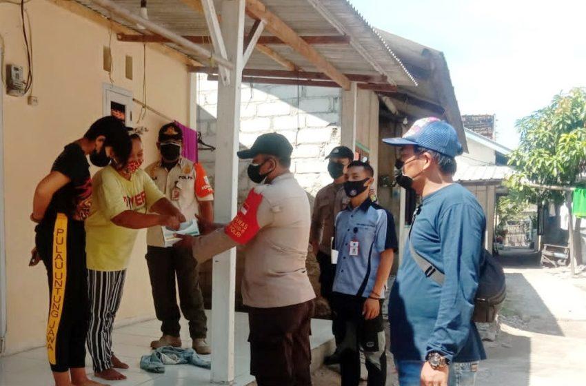 Cegah Sebaran Covid-19, Polres Kep Seribu Terus Himbau ProKes dan Bagikan 1.600 Masker