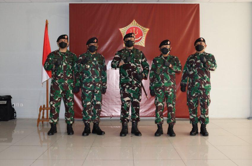 Kasdam Jaya Brigjen TNI Bobby Rinal Makmun, S.IP Serah Terimakan Jabatan Asops Kaskogabwilhan II