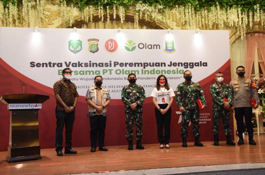 Kodam Jaya Dukung Program Pemerintah Pelaksanaan Vaksinasi Nasional