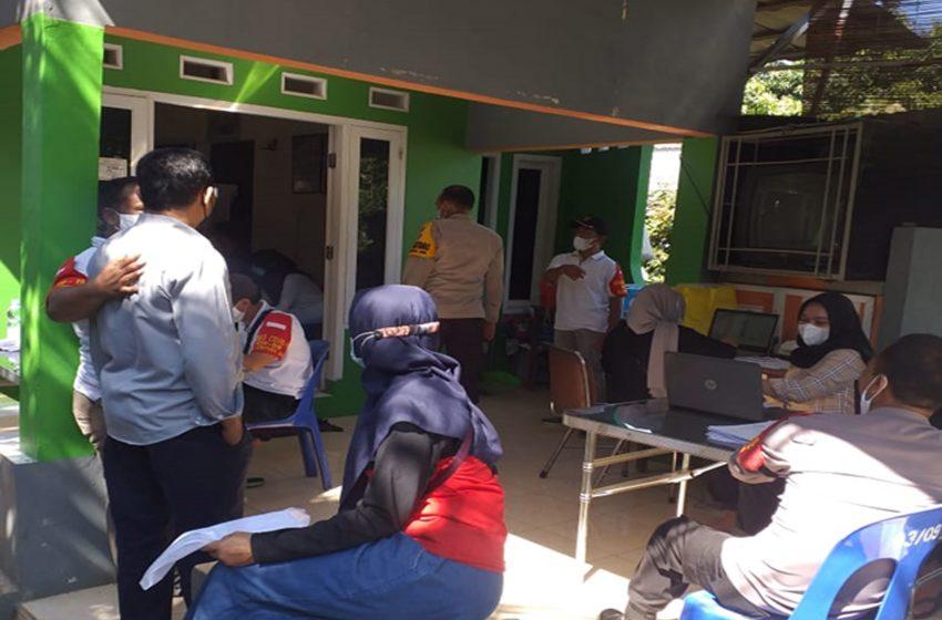 Pos RW 09 Kelurahan Cipayung Jaya Menjadi Tempat Pelaksanaan Vaksin