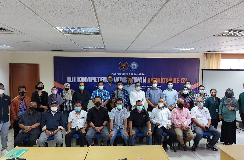 100 Persen Kompeten, UKW Angkatan ke-52 PWI Jaya