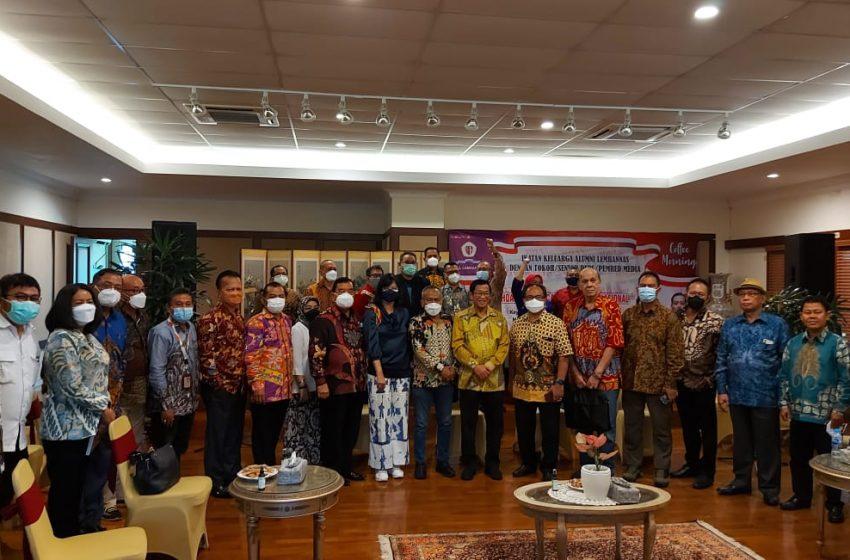 Ketua Umum IKAL Jenderal TNI (Purn) Agum Gumelar, Diskusi Tentang Hoax Mengancam Ketahanan Nasional