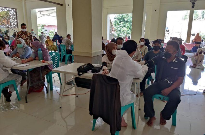 Lima Gerai Vaksin Polsek Cinere Salah Satunya di GKI Layani Masyarakat Sekitar