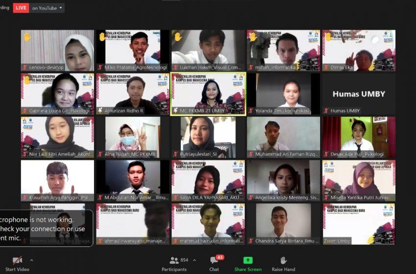 Mahasiswa Baru UMBY Diharapkan Bisa Memahami Tata Krama Yogyakarta