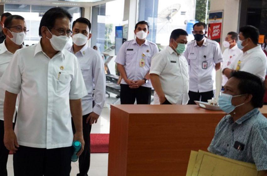 Menteri ATR/Kepala BPN Minta SDM Terus Meningkatkan Kualitas Pelayanan
