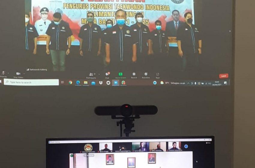 Pengurus Taekwondo Kalimantan Tengah Resmi di Lantik
