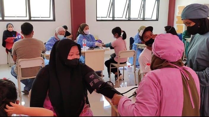 Sukseskan Vaksinasi, Koramil 07/Limo dan PC LDII Siapkan 1000 Dosis Vaksin