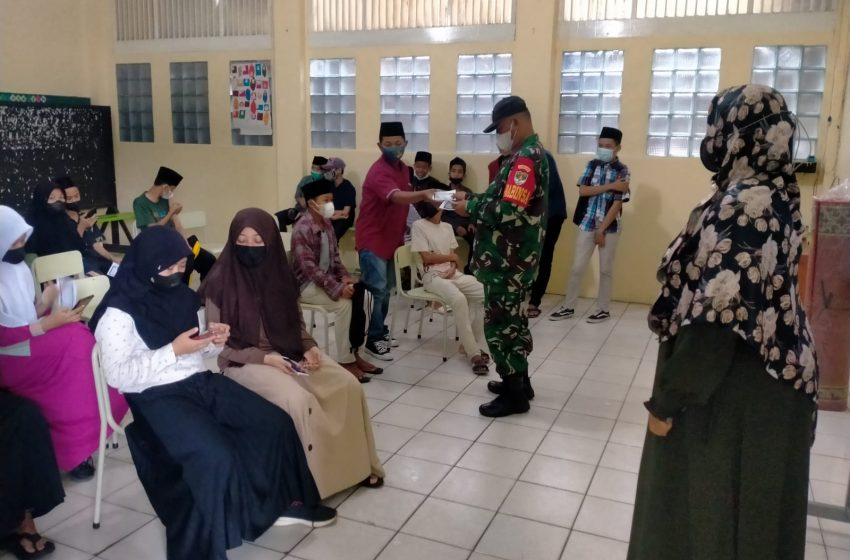 Serbuan Vaksin Pelajar di Kecamatan Cikupa