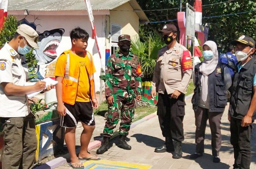 Giatkan Ops Yustisi Gabungan, Polsek Kep Seribu Selatan Jaring 12 Pelanggar ProKes