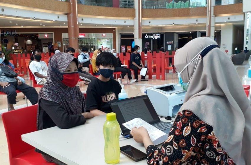 Gerai Vaksin di Mall Puskesmas Margamulya Sediakan 100 Dosis Per Hari di Summarecon Bekasi